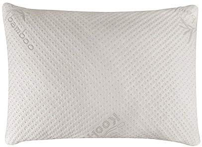 Amazon Com Snuggle Pedic Ultra Luxury Bamboo Shredded Memory Foam Pillow Combination With Adjustable Fit And Zippe Foam Pillows Memory Foam Pillow Bed Pillows