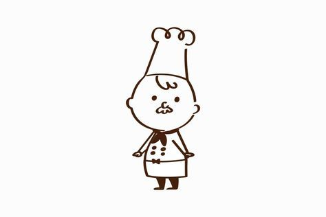 おじいちゃんのキャラクターデザイン