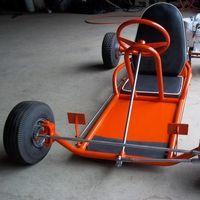 Photo Steve166 Jpg Vintage Go Karts Homemade Go Kart Go Kart Chassis