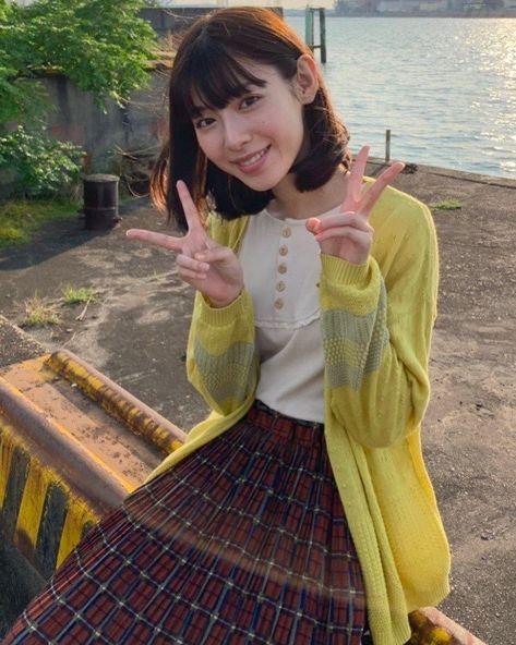 藤子さんはInstagramを利用しています:「🍳 聖ちゃん寄り(に見える)ハナちゃん #白石聖 #栗本ハナ #サニサイ #サニーサイドアップ  #だから私は推しました」