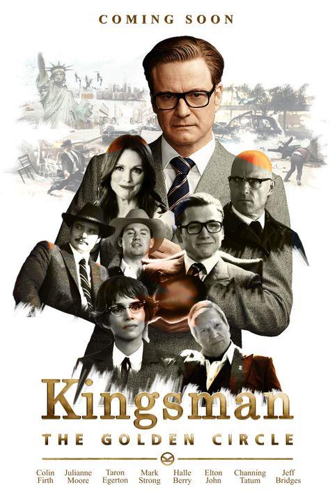 Kingsman- The Golden Circle_Poster_01 by Madan Dusane