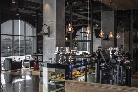 116 besten café interiors Bilder auf Pinterest Restaurants, Café - design treppe holz lebendig aussieht
