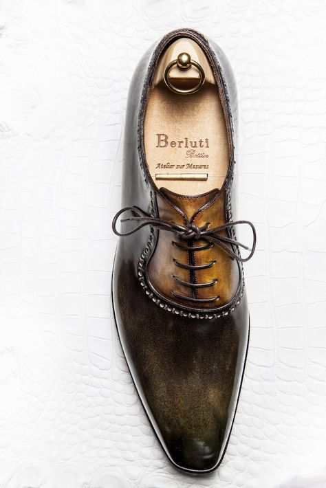 BELRUTI | HANDMADE | SHOES | BESPOKE | LEATHER | DESIGN | GQ | HAND PAINTED | RUGGED | DAY | CLASSY |