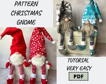 Felt Gnome Ornament Pattern Felt Christmas Ornaments Tomte Swedish Gnome Gnomes Sewing Pattern Christmas Gnomes Pattern Felt Gnome Pdf Decor In 2021 Gnomes Diy Gnome Patterns Christmas Gnome