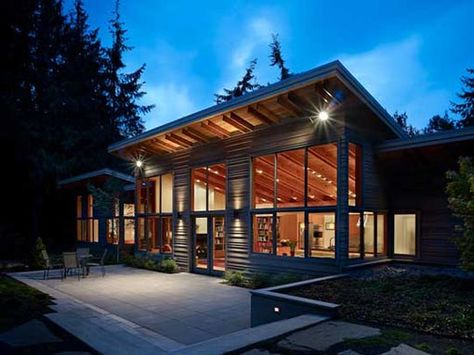 I Am Liking The Feel Of This Home Ecological House Architecture Shed Roof Design