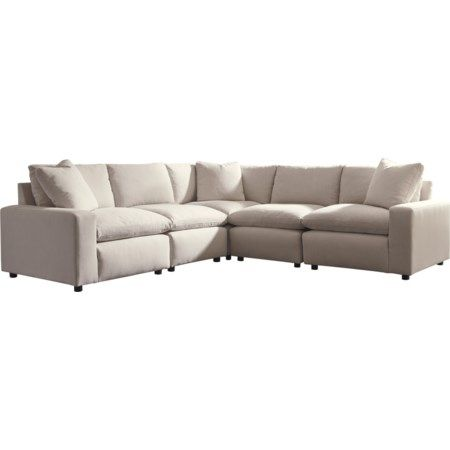 Savesto Casual Contemporary 5 Piece Sectional By Signature Design By Ashley At Homeworld Furniture Mattress Furniture Sectional Furniture