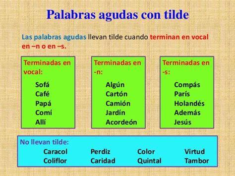 Palabras Llanas Con Tilde Y Sin Tilde Descargarimagenes Com Palabras Llanas Palabras Llanas Con Tilde Palabras Agudas Con Tilde