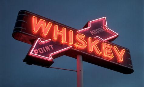 neon whiskey by Kevin Leighton Insert my face here. Old Neon Signs, Vintage Neon Signs, Old Signs, Retro, Spiderman, The Lone Ranger, Portfolio Images, Neon Lighting, Picture Wall