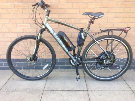 Carrera Crossfire 2 electric bike conversion | Electric bike