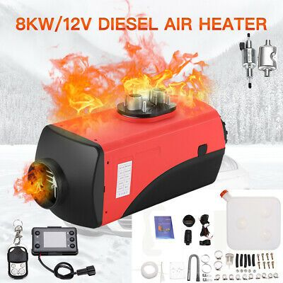 Sponsored Ebay 8000w 12v Diesel Air Heater Duct Lcd Monitor For Truck Motorhome Trailer Boat Rv In 2020 Diesel Boat Trailer Trucks
