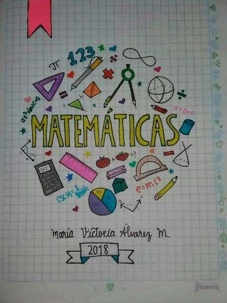 57 Caratulas Para Cuadernos De Matematicas Faciles De Dibujar Foros Ecuador About Me Blog Blog Blog Search