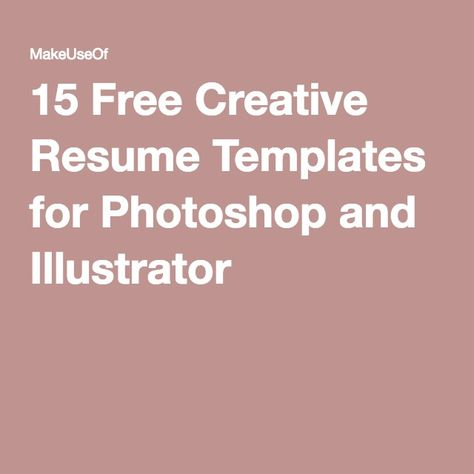 Free creative resume template 22 free creative resume template 15 free creative resume templates for photoshop and illustrator free creative resume template yelopaper Image collections