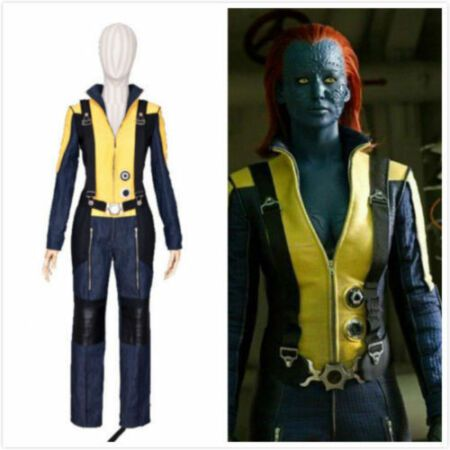 First Class Mystique Cosplay Costume Outfit Movie Uniform X-Men