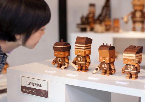 "Modern wood toys by Takeji Nakagawa, aka ""Take-G"""