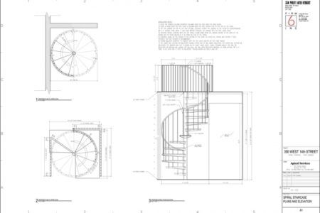 Spiral Staircase Measurements About Passerelle John Pawson
