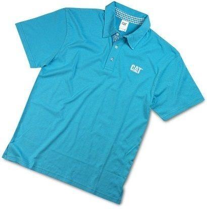 Koszulka Polo Surrey Caterpillar S Xxxl Niezwykle Wygodna Klasyczna Meska Koszulka Polo Z Krotkim Rekawem W Kolorze Niebies Mens Tops Polo Mens Polo Shirts