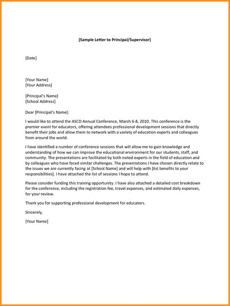 How To Write A Letter To A Principal How To Write Letter By How To