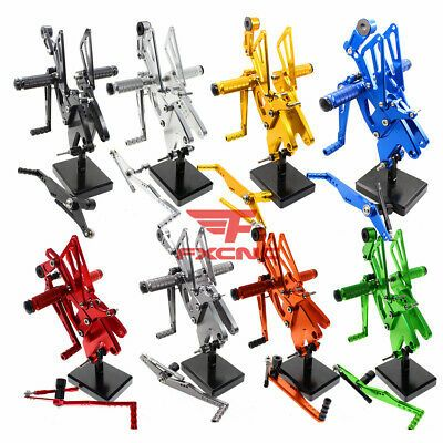 For Yamaha R1 YZF-R1 R1M R1S 2015 2016 2017 2018 Rearsets Foot pegs Rear set