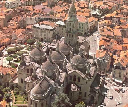 St Front W Perigueux France Travel Romanesque Architecture Dordogne