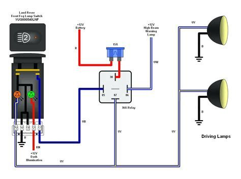 Wiring Diagram For Spotlights With Relay Post Date 06 Dec 2018 78 Source Htt Trailer Light Wiring Electrical Wiring Diagram Trailer Wiring Diagram