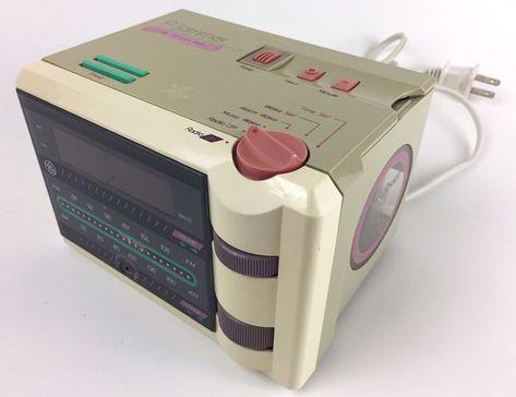 P'jammer Vintage 1980s Alarm Clock Radio TESTED   eBay   For sale on