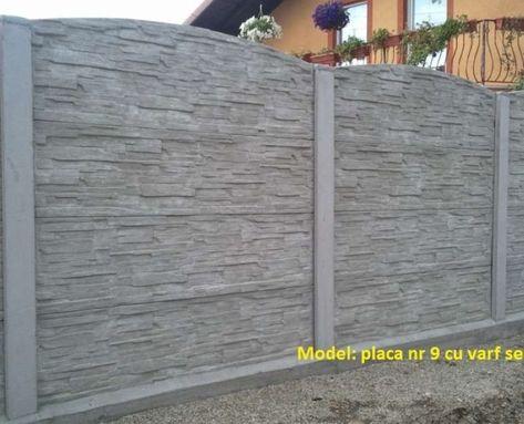 Gard Beton Placi Interesant