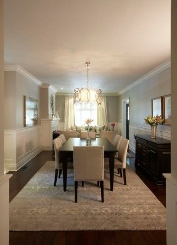 Floors, Walls, Wainscotting & Dining Room Table