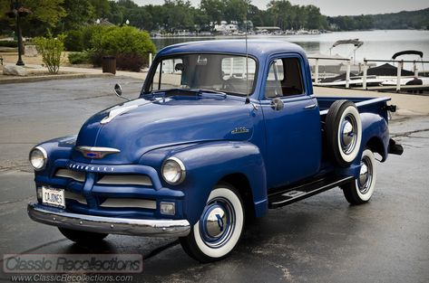 feature: 1954 chevrolet 3100 pickup truck | classic cars