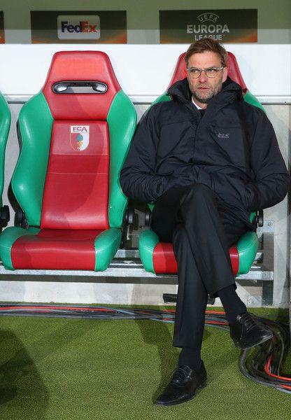 Jurgen Klopp Photos Photos: FC Augsburg v Liverpool - UEFA Europa League Round of 32: First Leg