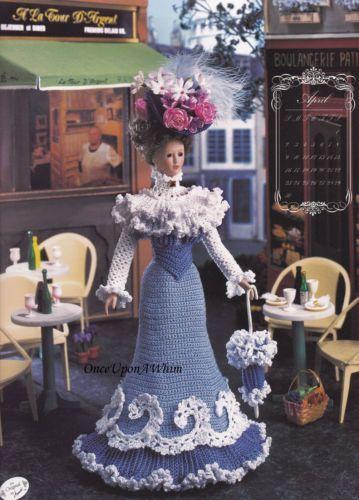 Miss November ~ fits Barbie dolls Bridal Trousseau crochet pattern booklet NEW