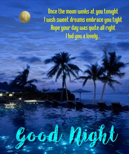 #Goodnighteveryone! Wish your loved ones a peaceful night & #sweetdreams with this #ecard.