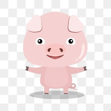 Hand Painted Cartoon Pink Pig Skin Powder Big Eyes Pig Nose Courtesy Png Transparent Clipart Image And Psd File For Free Download Cartoon Painting Hand Painted Big Eyes