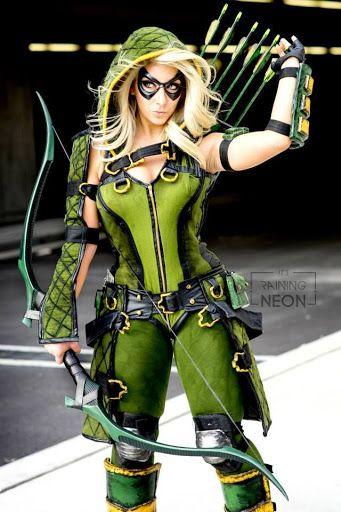 Arrow Cosplay 1 (Its Raining Neon) by deyayend on DeviantArt