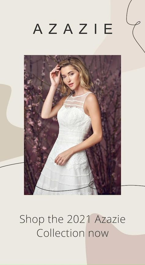 Azazie offers a convenient shopping experience, you can easily find a dress that matches your wedding. Come and visit azazie.com, shop by nectline, silhouette and more.#bridesmaiddresses#wedding#azazie