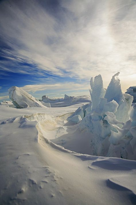 Artic Sculpture-why it would be fun to go to the north pole ;)
