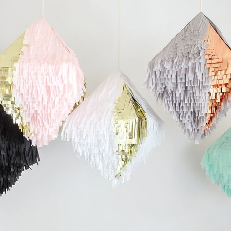 Shag Piñata  more colors by ProspectGoods on Etsy