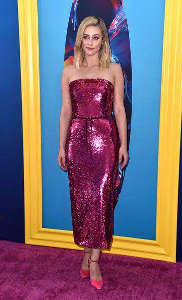 Lili Reinhart attends FOX's Teen Choice Awards.