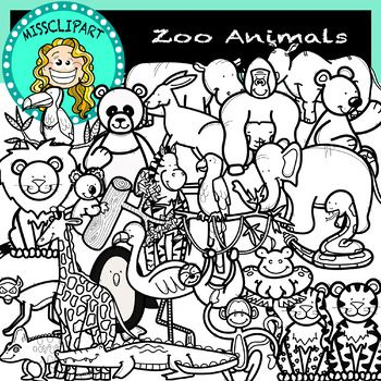 Zoo Animals Black And White Missclipart Zoo Animals Animals Black And White Zoo