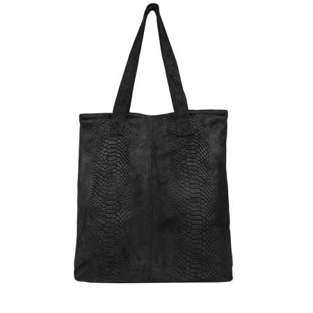 d95726c94e8 Draagtas DSTRCT Portland Road Shopper Flat Black   bags   Pinterest