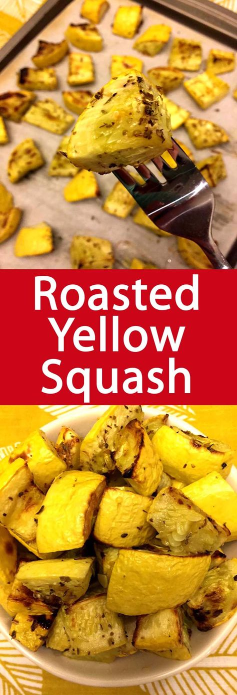 Roasted Yellow Squash Recipe