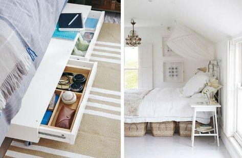 inreda små sovrum