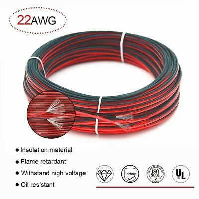 Ad Ebay 22 Awg Red Black Hookup Wire 66ft Stranded Wire Flexible Silicone Electrical Wire Electrical Wiring Cable Wire
