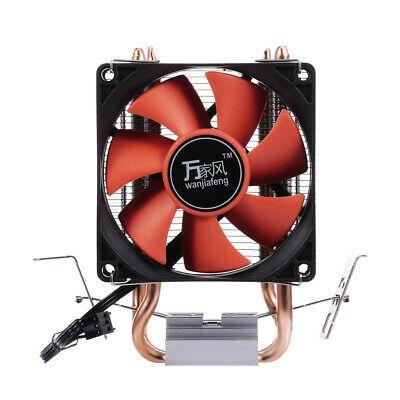 Details About Hydraulic Cpu Cooler Heatpipe Fans Quiet Heatsink
