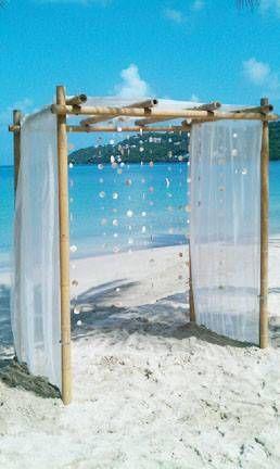 Beach wedding decor inspiration www.caribbeanweddingevents.com