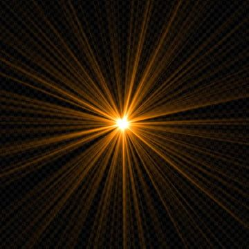 Lens Flare Light Rays On A Black Background Star Sun Lens Png Transparent Clipart Image And Psd File For Free Download Lens Flare Light Flare Light Rays