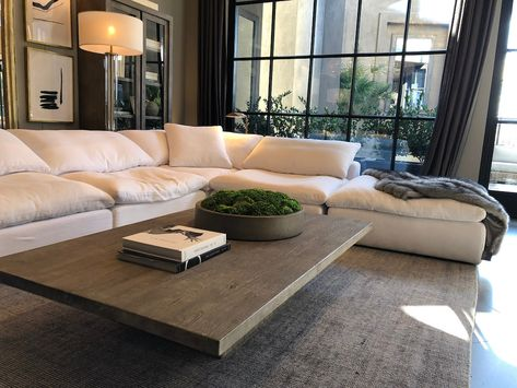 You don't need to spend a fortune to have superior comfort and style - these cloud couch dupes are just as good as Restoration Hardware! Living Room Sets, Living Room Designs, Living Room Decor, Living Room Furniture Sets, Living Room Tables, Bedroom Sets, Home Decor Furniture, Furniture Design, City Furniture