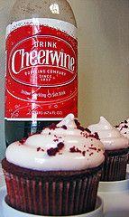 Cheerwine cupcakes!
