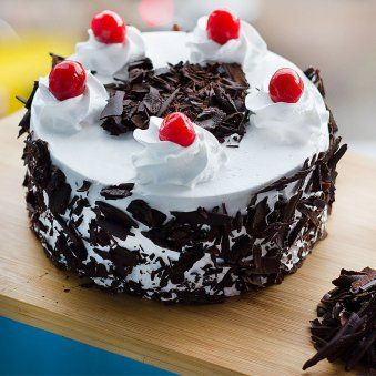 Incredible Delectable Black Forest Treat Cake Black Forest Cake Order Funny Birthday Cards Online Inifofree Goldxyz