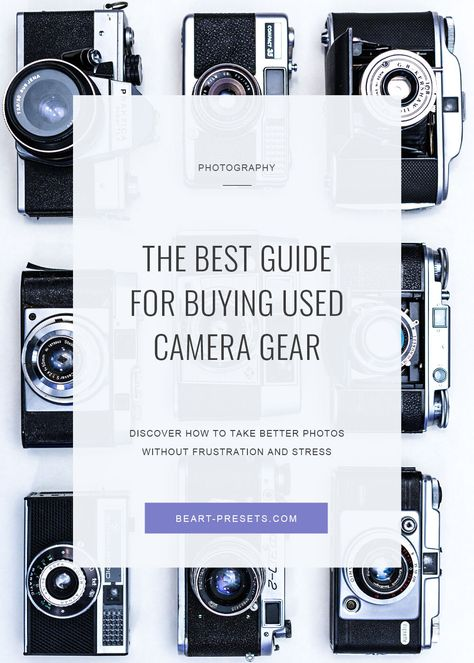 The Best Guide for Buying Used Camera Gear in 2021