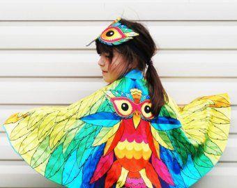 Baby Boys Girls Owl Bird Animal Festival Carnival Fancy Dress Costume Outfit